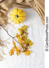 Autumn Thanksgiving card.