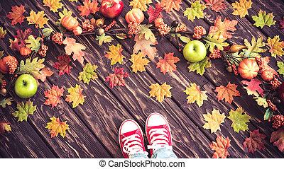 Autumn Thanksgiving Holiday Concept
