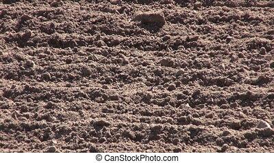 autumn time farm field soil