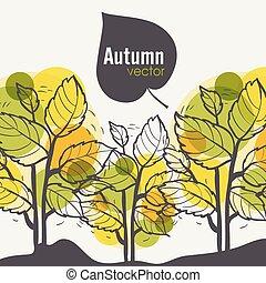 Autumn Tree Background