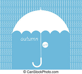 Autumn vector background.