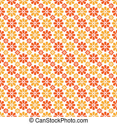 Autumn vector seamless pattern. Endless texture