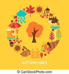 Autumn Vibes Postcard