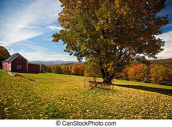 Autumn view in Vermont