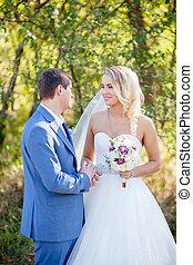autumn wedding ceremony classic