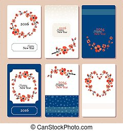 Autumn wedding graphic set
