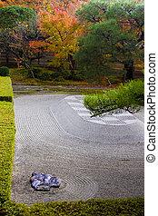 Autumn Zen Garden