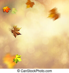 Autumnal fall. Abstract seasonal backgrounds