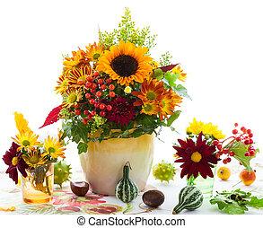 Autumnal flowers