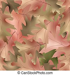 autumnal seamless pattern, vector illustration clip-art