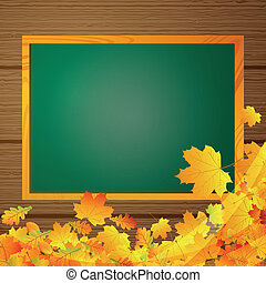 Autumnal Vector Background