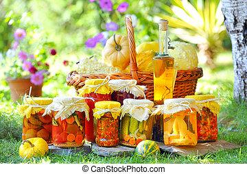 autunno, conserve