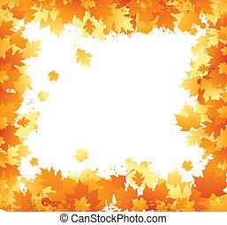 autunno, cornice