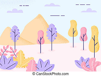 autunno, fantasia, paesaggio
