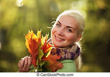 autunno, felice