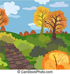autunno, mattina