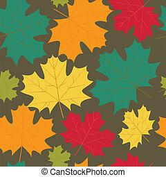 autunno parte, acero, fondo