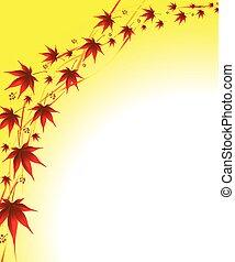 autunno parte, fondo