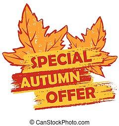 autunno parte, v, speciale, offerta