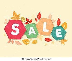 autunno parte, vec, vendita