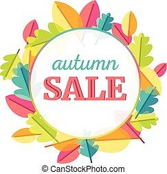 autunno parte, vendita