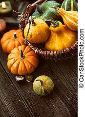 autunno, regolazione, posto