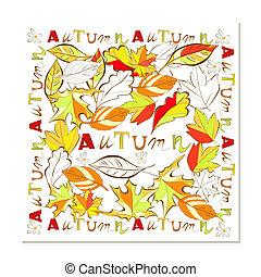 autunno, scheda