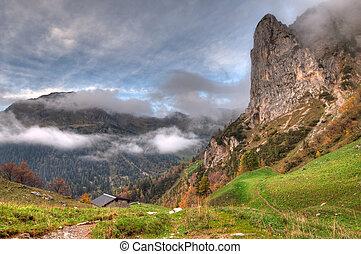 auutumn in the mountain