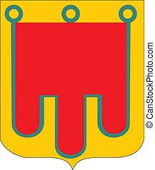 Auvergne provreg coa - Various vector flags, state symbols,...