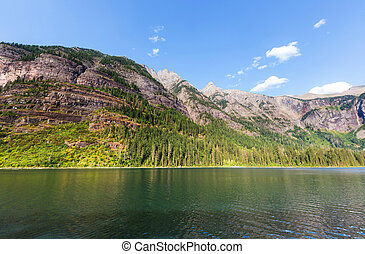 avalanche, lago
