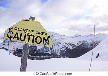 avalanche, perigo