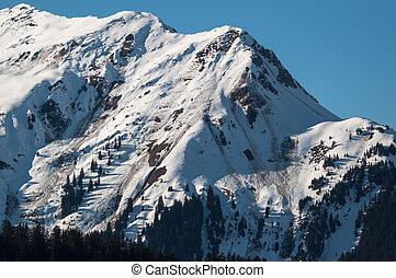 avalanches, desmoronamento