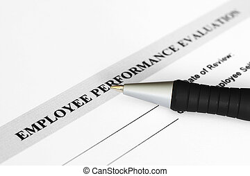 avaliação desempenho, empregado