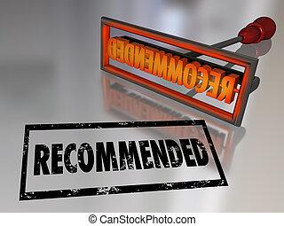 avaliação, marcar, revisão, escolha, alto, recomendado,...