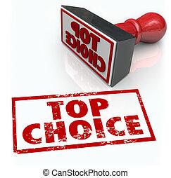 avaliação, produto, realimentação, selo, topo, escolha, ...