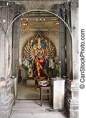Avalokite?vara Thousand Arms Hindu Goddess - Avalokite?vara...