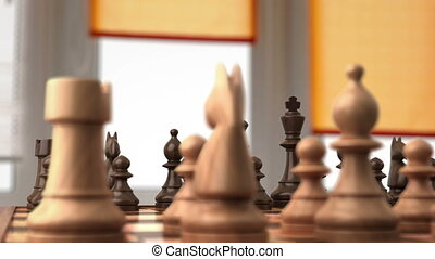 avant, échecs, baston
