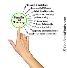 avantages, thérapie, dix