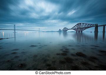 avanti, ponti, in, edinburgh, scozia