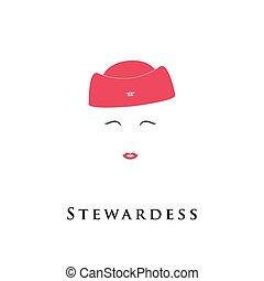 avatar., 女の子, スチュワーデス