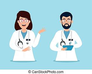 avatar, 特徴, 恋人, 医者