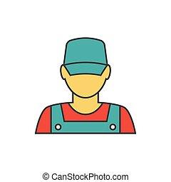 avatar, 기계공, 아이콘