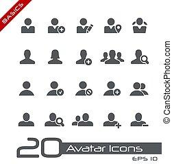 avatar, basics, iconerne, //