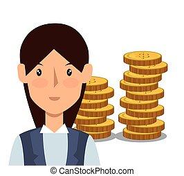 avatar business woman