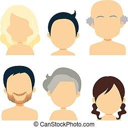 avatar, famille, gens