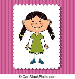 avatar girl smiling