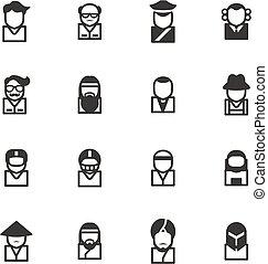 Avatar Icons Set 3