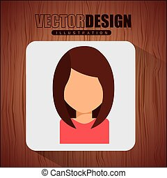 avatar, ikone, design