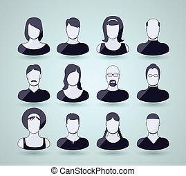 avatar, ikony