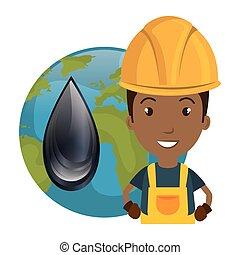 avatar industrial worker